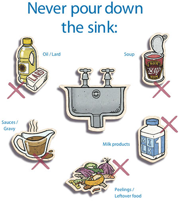 Don't put down the sink