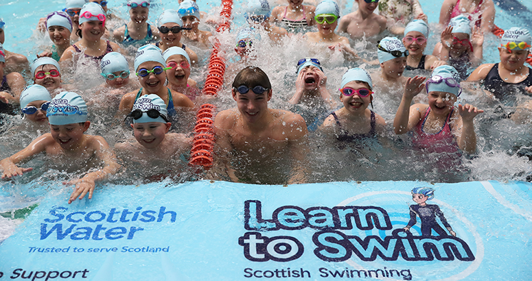 Learn to Swim partnership with Scottish Swimming