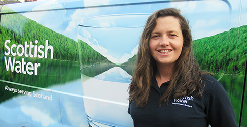 Scottish Water Graduate is a rising star