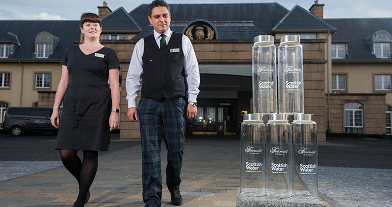 Fairmont St Andrews Backs Refill Campaign