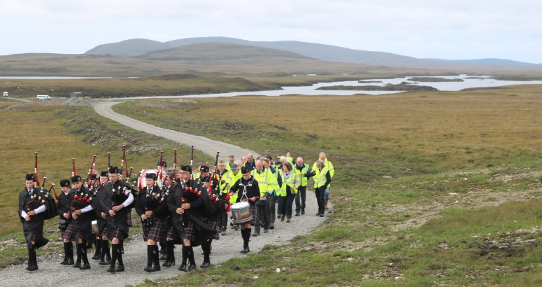 Lochmaddy pipe band
