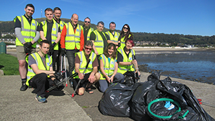 Burntisland Beach Clean