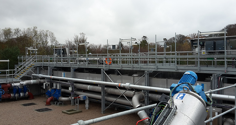 The new Inverurie Waste Water Treatment Works