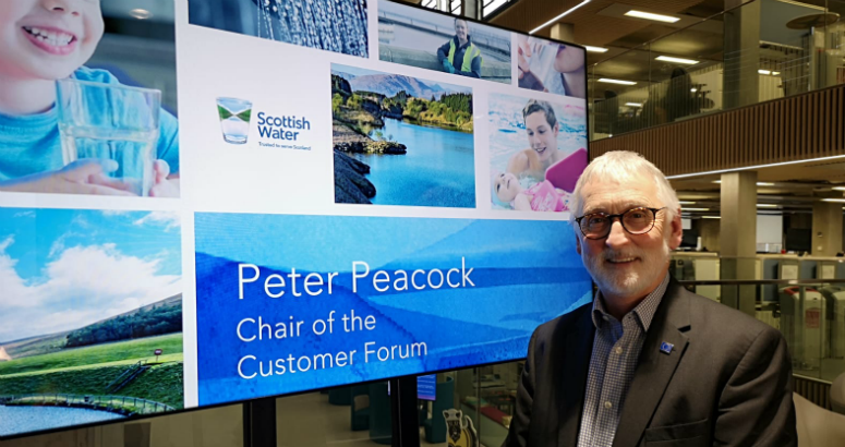 Peter Peacock Chair of Customer Forum