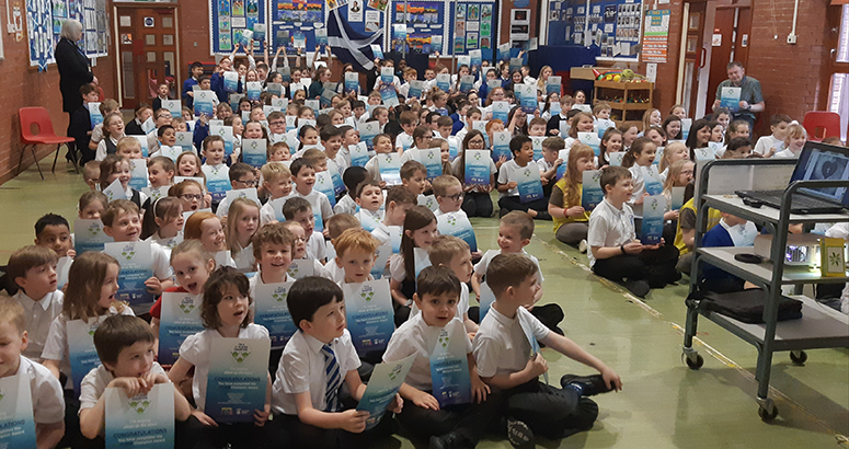 Fife Pupils Take 3Ps Pledge to Protect the Planet