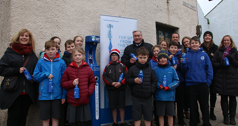 North Berwick Top UP Tap Launch