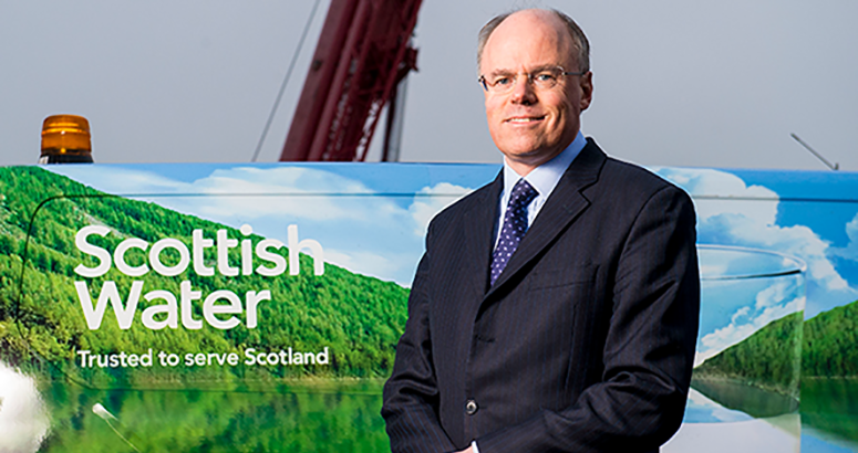 Douglas Millican talks about Scottish Water Vision
