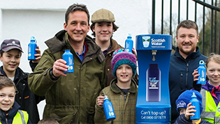 Inveraray Top Up Tap Launch