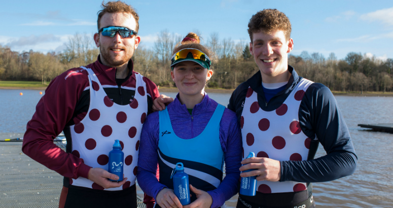 Members of Strathclyde  Park Rowing Club