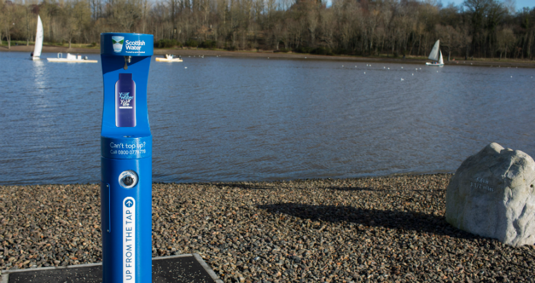 Top Up Tap in Strathclyde Country Park