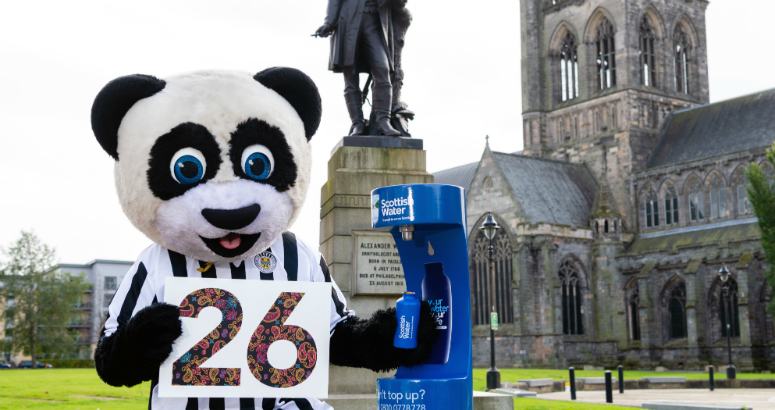 26th TuT launched by St Mirren FC's Paisley Panda