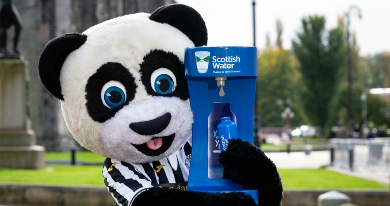 Paisley Panda tops up from the tap
