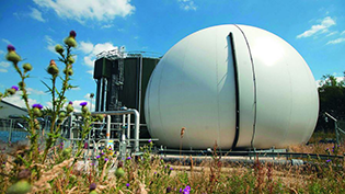 Anaerobic digestion at Deerdykes Recycling Centre