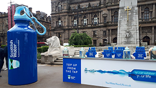 201618 George Square Top up Tap Launch