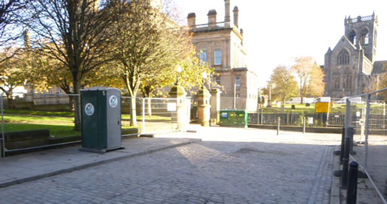 Paisley environmental project key phase complete
