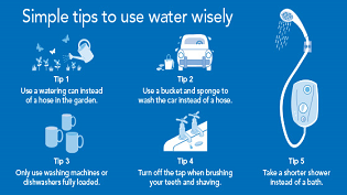 Customers asked to use water wisely