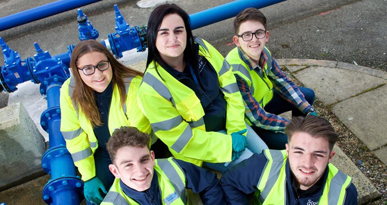 Scottish Water Apprentice Encourages Young People to Apply for Modern Apprenticeships