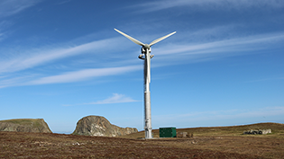 Fair Isle Power Turbine