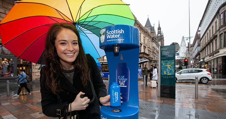 Glasgow Top UP Tap Launch