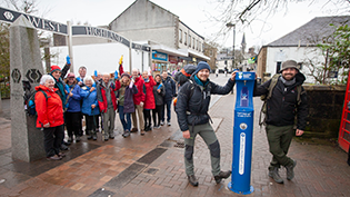 West Highland Way Top Up Taps Launch