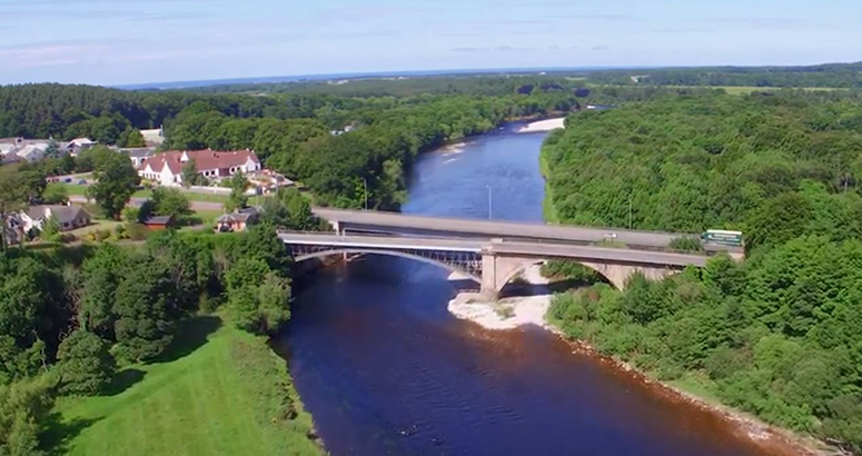 Project Complete at Fochabers Spey Bridge