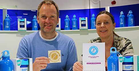 Scottish Water Dunfermline gets Plastic Free Status