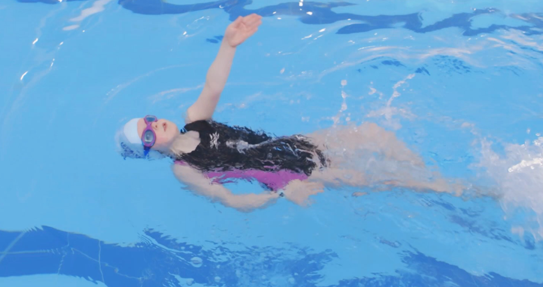 Learn to Swim Phoebe Lannigan Cancer Battle