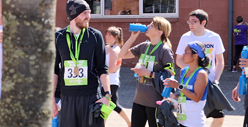 Scottish Water Helps Balfron 10k Runners Top Up from the Tap