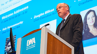 Douglas Millican opens IWA LET Conference