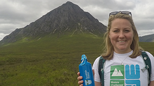 Mountaineer Mollie Hughes kicks off Munros challenge