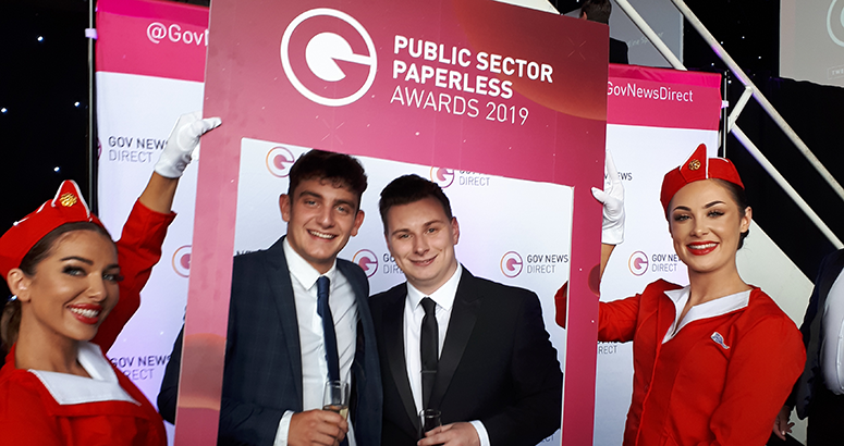 Scottish Water win Paperless Award for App