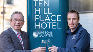 Edinburgh's Ten Hill Place backs Your Water Your Life