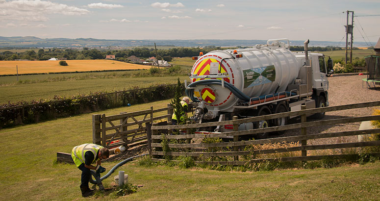 Septic Tank Services - Scottish Water