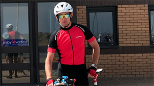 Scottish Water team leader tackles cycle challenge for WaterAid