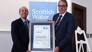 Scottish Water still on top of the world when it comes to procurement