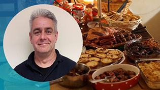 David Cunningham blog on Festive Food Waste