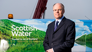 Scottish Water Chief Executive Douglas Millican