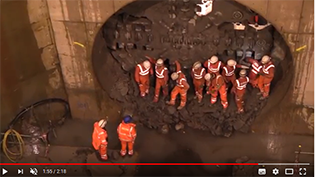 Shieldhall Tunnel Construction Complete