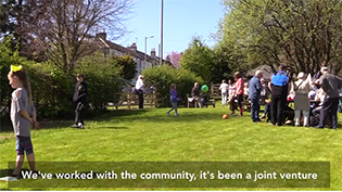 Community Garden in East Ayrshire Video