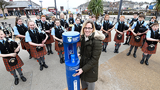 Top Up Tap Launches in Oban