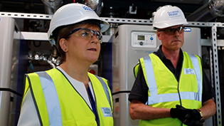 Nicola Sturgeon visits Green Energy Hub