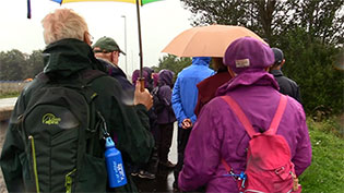 Helping Borders walkers stay hydrated